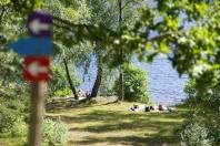 Camping in Zweden: de omgeving van onze familiecamping