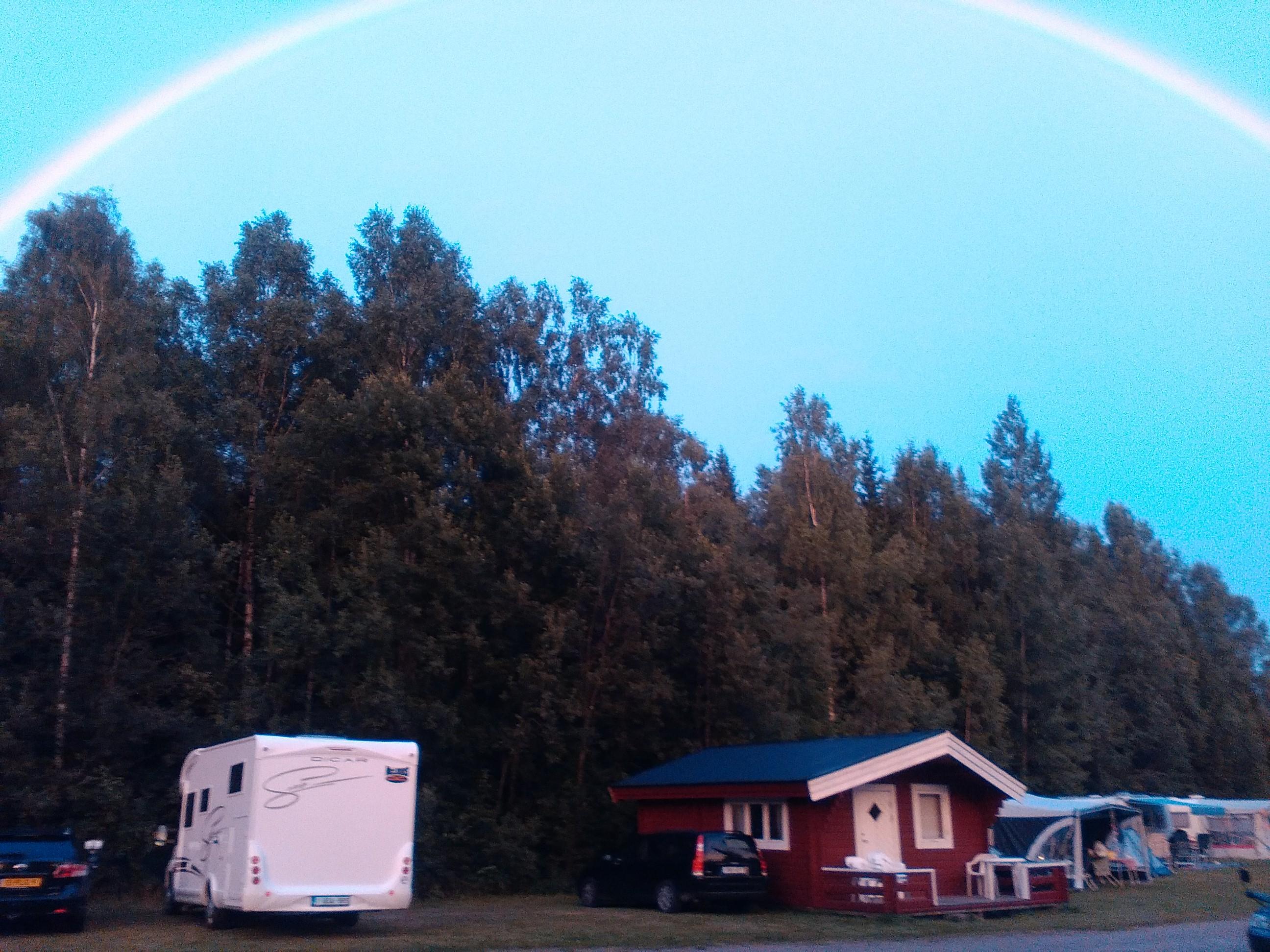 Regenboog camping