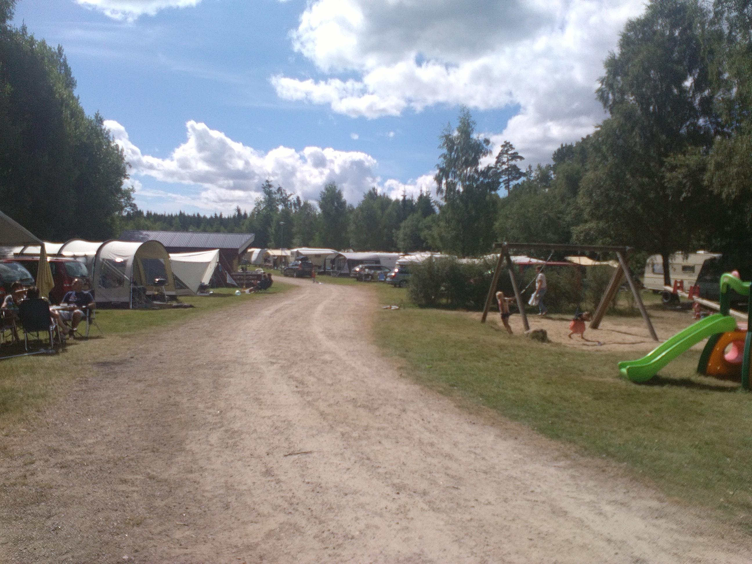 Stensjö Camping in Zweden